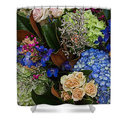 Shower Curtain featuring the photograph English Bouquet by Julie Andel