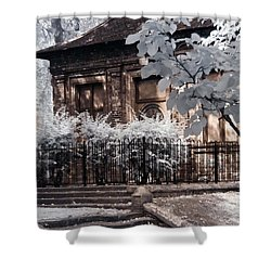 English Garden House Shower Curtain