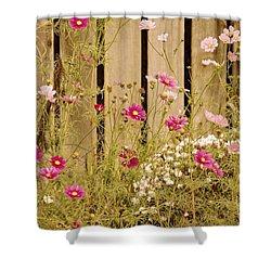 English Garden Shower Curtain by Susan Maxwell Schmidt