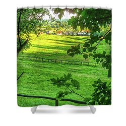 English Summer Contentment  Shower Curtain