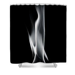 Engulfed Shower Curtain