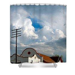 Enid America Depot Shower Curtain