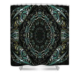 Enigma. Special For August Shower Curtain by Oksana Semenchenko