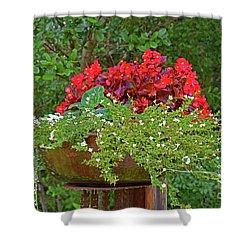 Enjoy The Garden Shower Curtain