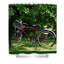 Enjoy The Ride Shower Curtain
