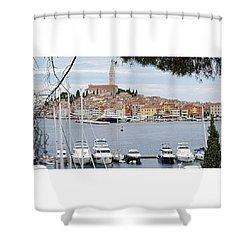 Rovinj, Croatia Shower Curtain