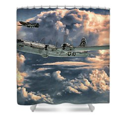 Enola Gay Shower Curtain