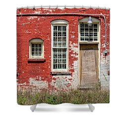Shower Curtain featuring the photograph Enough Windows by Christopher Holmes