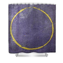 Shower Curtain featuring the digital art Enso 2017-18 by Julie Niemela