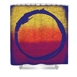 Enso 6 Shower Curtain