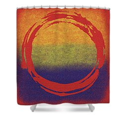 Enso 7 Shower Curtain