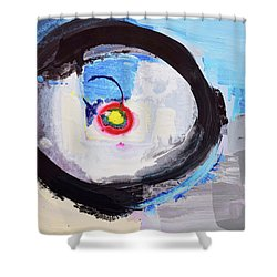 Enso Of Intimate Relationship Shower Curtain