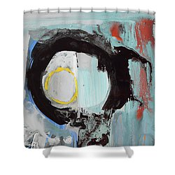 Enso, Rising Up From Duality Into The Light Shower Curtain by Amara Dacer