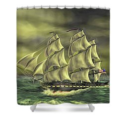 Ensuring Liberty Shower Curtain