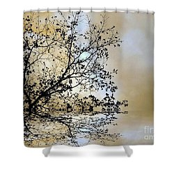 Entangled Shower Curtain by Elfriede Fulda