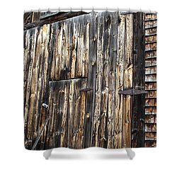Enter The Barn Shower Curtain