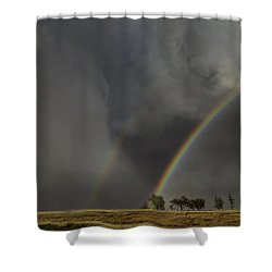 Enter The Storm Shower Curtain
