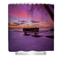 Shower Curtain featuring the photograph Enters The Unguarded Heart by Phil Koch