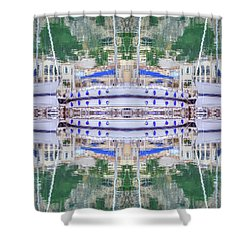 Entranced Shower Curtain by Keith Armstrong