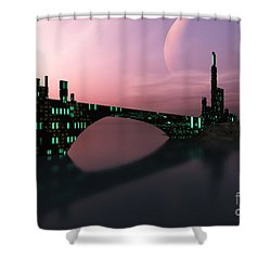 Entrancement Shower Curtain by Corey Ford