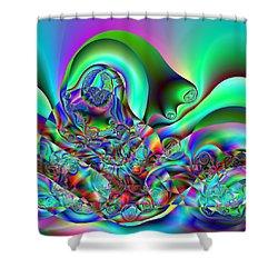 Entreption Shower Curtain