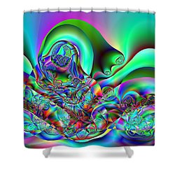 Entreption Shower Curtain