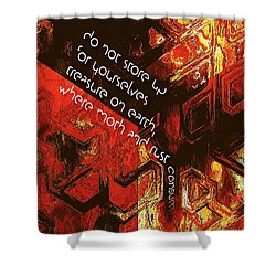 Entropy Shower Curtain