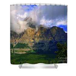 Envelopped  Shower Curtain