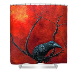 Environment 2050 Shower Curtain by Jeff Burgess