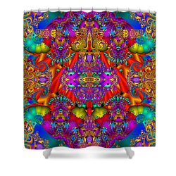Shower Curtain featuring the digital art Environmental Protection-  by Robert Orinski