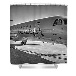 Envoy Embraer Regional Jet Shower Curtain