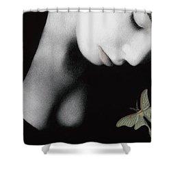 Ephemeral Shower Curtain by Pat Erickson