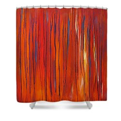 Ephemeral Shower Curtain