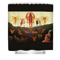 Epic - In The Valley Of Megiddo Shower Curtain