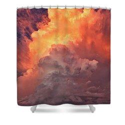 Epic Storm Clouds Shower Curtain