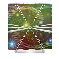Epiphany Shower Curtain by Tim Allen