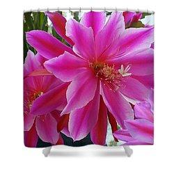 Epiphyllum Shower Curtain by Ellen Henneke