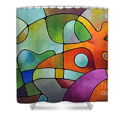 Equanimity Shower Curtain