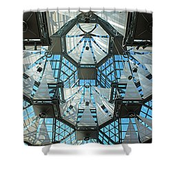 Shower Curtain featuring the photograph Equilibrium.. by Nina Stavlund