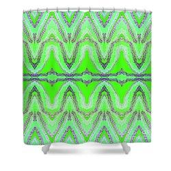 Equilibrium  Shower Curtain by Rachel Hannah