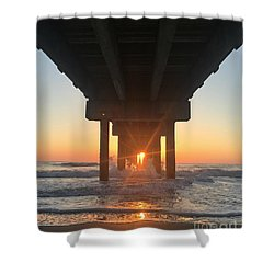 Equinox Line Up Shower Curtain