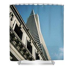 Eras, San Francisco Shower Curtain
