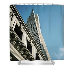Eras, San Francisco Shower Curtain