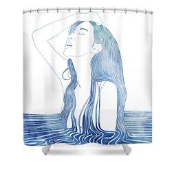 Erato Shower Curtain
