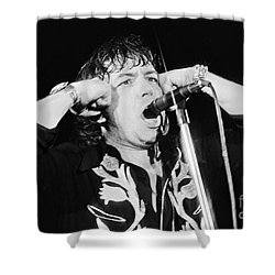 Eric Burdon In Concert-1 Shower Curtain