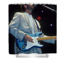 Eric Clapton Shower Curtain by Rich Fuscia
