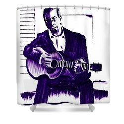 Eric Clapton Shower Curtain by Seth Weaver