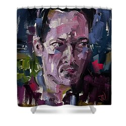 Erik Shower Curtain by Jim Vance