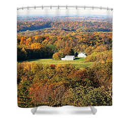 Shower Curtain featuring the photograph Erin Wisconsin  by Ricky L Jones