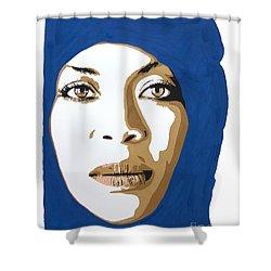 Erykah Badu. Mama's Gun. Shower Curtain